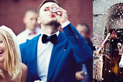 Kasia i Mateusz ślub w kolorze niebieskim!