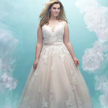 Style W405. Credits- Allure Bridals