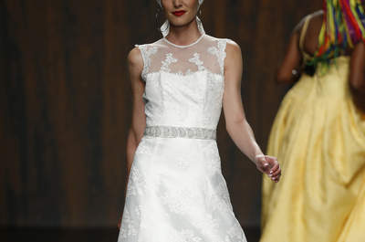 Abiti per invitata di nozze Ana Torres 2016: esuberanti e colorati