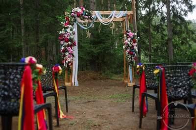 Яркие сочетания во флористике: изюминка для вашей свадьбы!