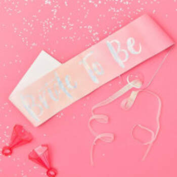 Echarpe Bride To Be Rose - The Wedding Shop !