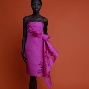 Angel Sanchez brinda-nos com um festim de cor nesta sua colecção Resort 2013. Se procura um vestido de festa vibrante, está no sítio certo!