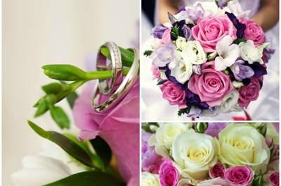 Bukiet ślubny - trendy na rok 2015