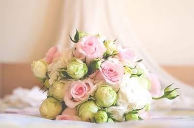 Os 29 ramos de noiva com flores brancas mais elegantes: o complemento ideal para o seu look