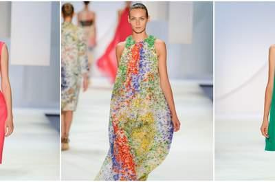 Vestidos de festa Monique Lhuillier 2016: modernidade e elegância aliadas