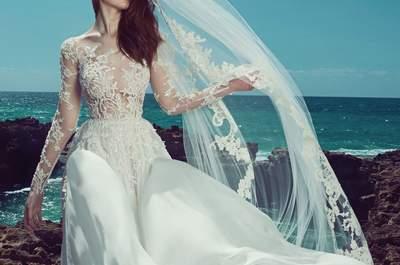 Vestidos de novia Zuhair Murad 2017: Una experiencia hermosa para los sentidos