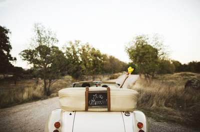 Cómo elegir el coche para tu boda: 5 claves que no debéis pasar por alto