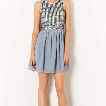 Vestido de Top Shop com detalhes.