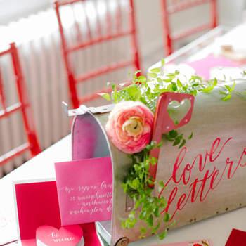 Buzón de mensajes de San Valentín. Credits: Abby Jiu Photography