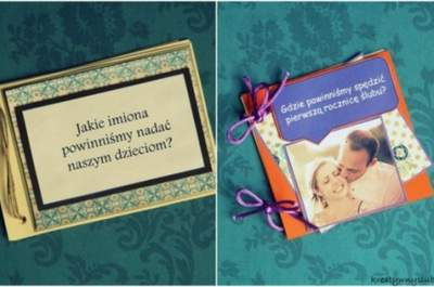 DIY,haz la pregunta, la respuesta te sorprenderá: libro de invitados en tarjetas