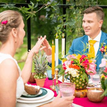 otanic styled wedding shoot: voel de tropical vibes! | Foto: Just Weddings.nl – Justa van Heertum