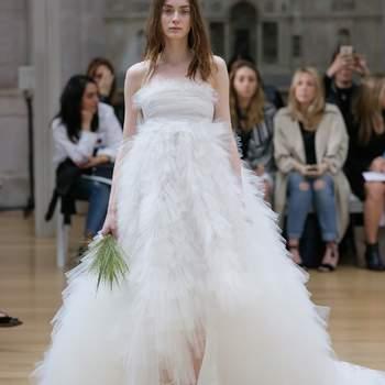 Vestidos de novia Oscar de la Renta 2018: propuestas elegantes y diferentes para tu boda