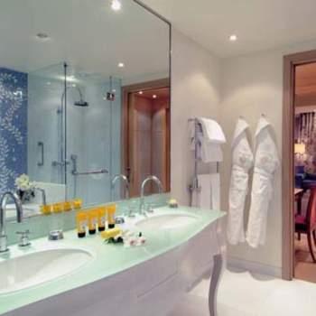 La stanza da bagno della Royal Suite