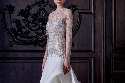 Descubre 50 vestidos de novia ideales si tienes poco pecho, tendencias 2016
