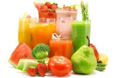 Jugos frescos y smoothies dietéticos: tendencias de verano