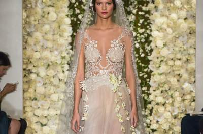 Reem Acra 2015-16 Fall/Winter Bridal Collection Catwalk