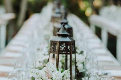 30 tipos de decoración de mesas del banquete, ¿con cuál te quedas?