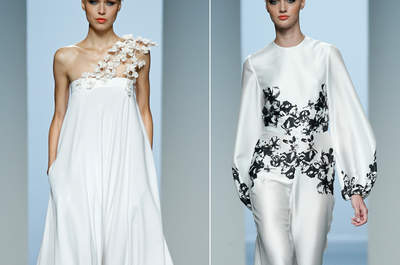 Las novias de la Mercedes-Benz Fashion Week Madrid 2015