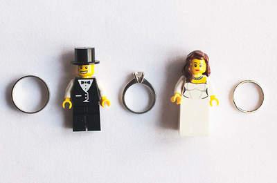 Decorazioni per matrimonio originali: prova con i Lego!