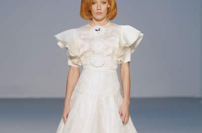 Las novias de Franco Quintans en la Pasarela Costura España