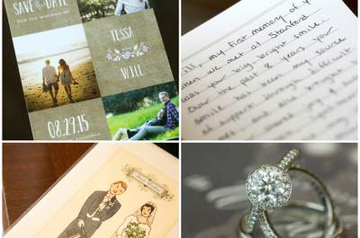 A Touch of Gold: Tessa + Will's Wedding in California