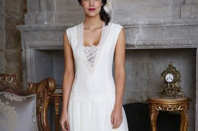 Robes de mariée Elsa Gary 2018 : du style et de l'audace !