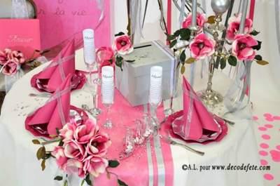 Nappes et serviettes sur decodefete.com : vos tables de mariage au top !