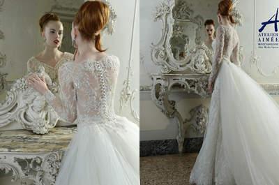 Vestidos de novia Aimeè 2015: Glamour al más puro estilo italiano
