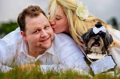 Thomas y Lili: una boda con glamour… ¡Y de película!