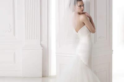 Consiga uma silhueta perfeita com os vestidos corte sereia da Pronovias 2015