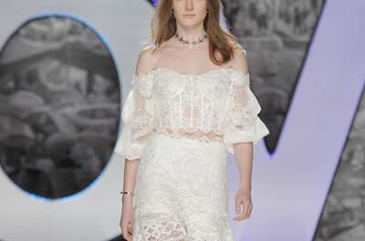Suknie ślubne z odsłoniętymi ramionami: szyk i elegancja!