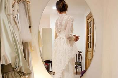 Consejos para que las pruebas de tu vestido de novia salgan redondas