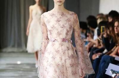 Muchas flores y una ola inmensa de color: Enamórate de los vestidos de fiesta 2015 de Luisa Beccaria