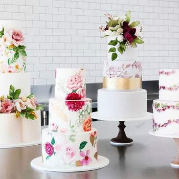 Conoce las tortas lienzo. ¡Dulces para tu matrimonio con un toque artístico y encantador!