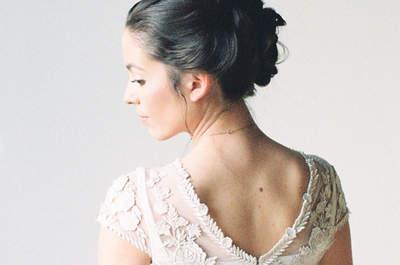 Descubra os melhores penteados de noiva apanhados: escolha o seu favorito!