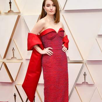 Kaitlyn Dever en Louis Vuitton. Credits: Getty Images