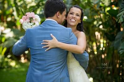 Casamento de Gisele & Odlan: mini wedding delicado, romântico e cheio de amor