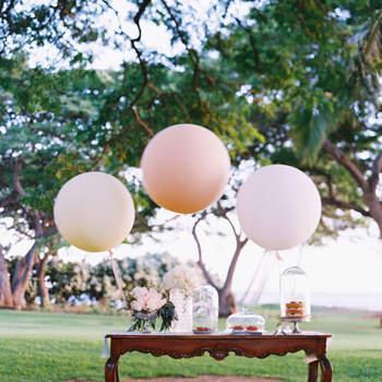 Decoración de boda con globos, ¡las ideas más sorprendentes!