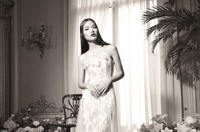 Extravagante Brautkleider von Yolan Cris: Die exklusive Capsule Collection bei der London Bridal Fashion Week!