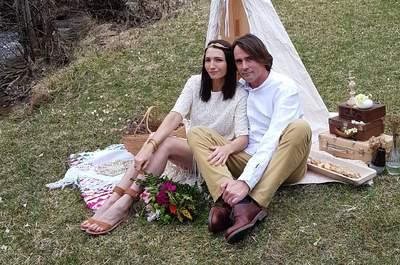 Un mariage dans les bois ? On craque pour la mise en scène de la wedding planner OuibyPaulette