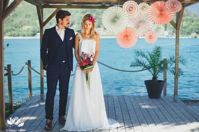 Une magnifique inspiration mariage tropicale dans la baie d'Angon
