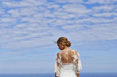 Bohemian Brides: Summery wedding dresses for your boho-chic wedding