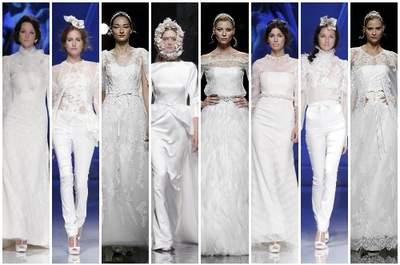 17 robes de mariée à manches pour 2013