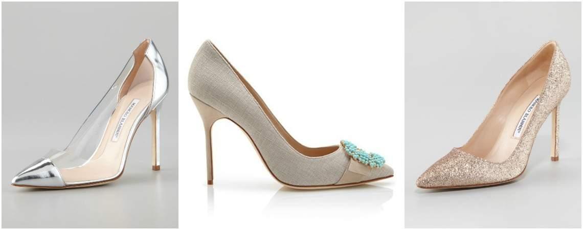Zapatos de novia Manolo Blahnik 2017: Completa tu look nupcial con un diseño exclusivo para tus pies