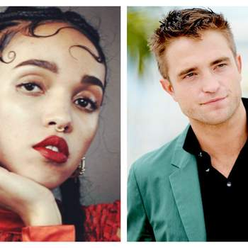 Credits: FKA Twigs y Robert Pattinson Instagram