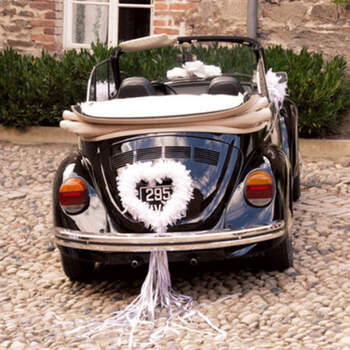 Corazón de plumas blancas- Compra en The Wedding Shop