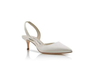 Sapatos para noivas Manolo Blahnik 2018: direto das celebridades para o seu grande dia!