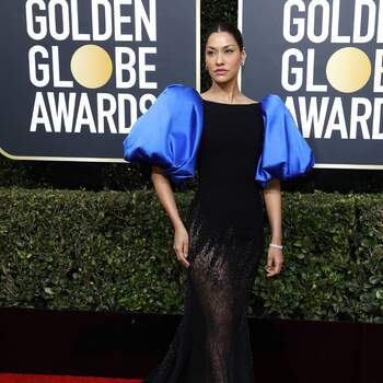 Janina Gavankar in Georges Chakra | Credits: Cordon Press
