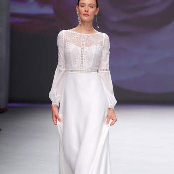 Créditos: Aire Barcelona. Credits | Barcelona Bridal Fashion Week