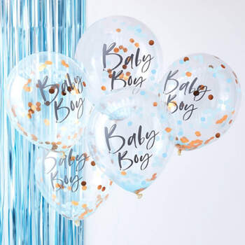 Globos bebé chico 5 unidades- Compra en The Wedding Shop